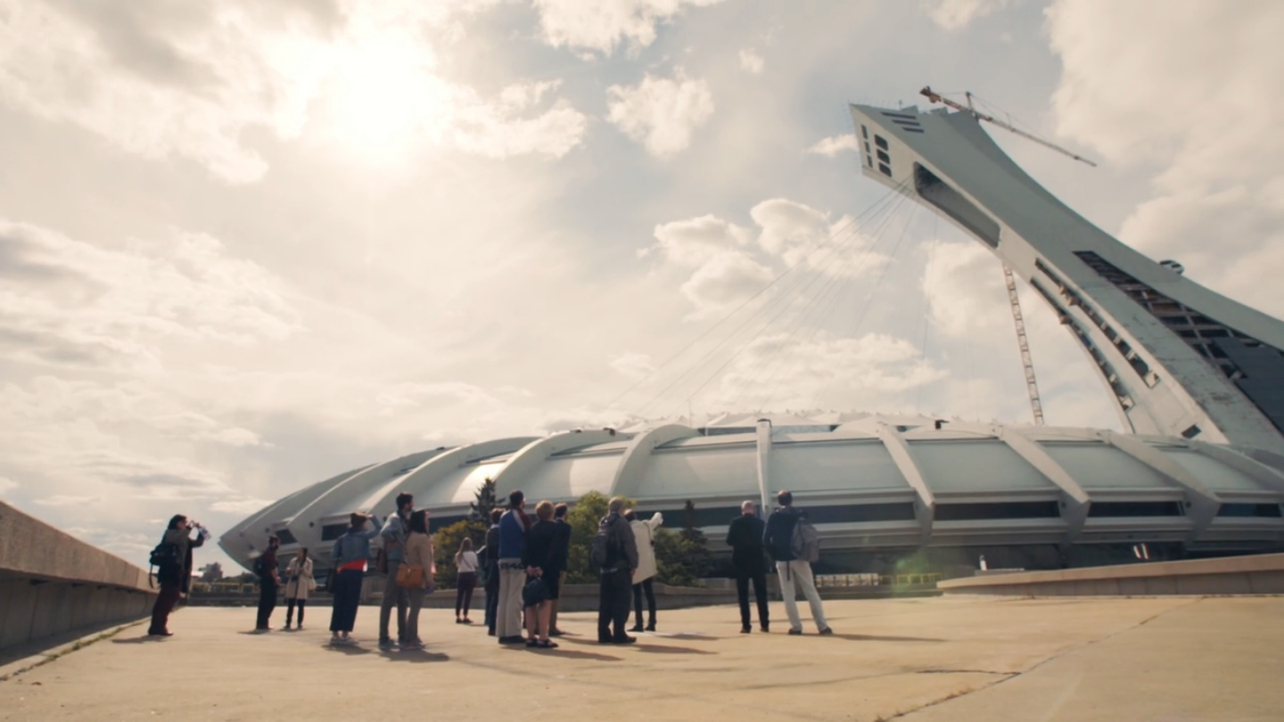 RIO - UNVEILING OF THE HERITAGE STUDY OF THE MONTREAL OLYMPIC STADIUM